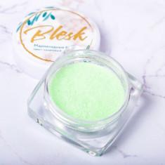 Blesk, Дизайн для ногтей «Мармеладные блестки», салатовый
