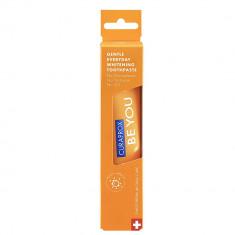 Curaprox зубная паста Be You Orange Чистое счастье, вкус персик/абрикос 60мл оранжевая