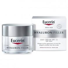 Eucerin Hyaluron-filler Крем для ночного ухода 50мл+Крем для дневного ухода за сухой и чувствительной кожей SPF15 50мл