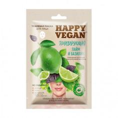 Fito, Маска для лица Happy Vegan «Тонизирование», 25 мл