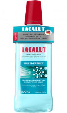 Lacalut Ополаскиватель для полости рта Мульти-эффект антибактериальный 500мл