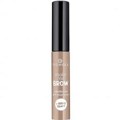 Essence Гелевая тушь для бровей Make Me Brow Eyebrow Gel Mascara светло-коричневый т.01