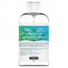 очищающая вода с гиалуроновой кислотой dr.cellio  hyarulon perfect clear cleansing water