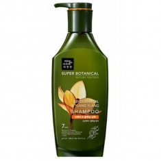 восстанавливающий и расслабляющий шампунь mise en scene super botanic repair shampoo abyssinian oil and ylang ylang