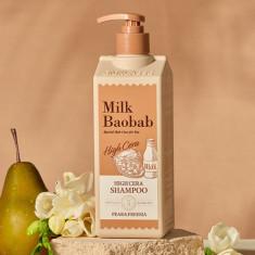 шампунь для волос с ароматом груши и фрезии milkbaobab high cera shampoo pear & freesia